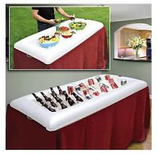 Inflatable Serving Bar Buffet Salad Ice Cooler Picnic Camping Party Yard Outdoor