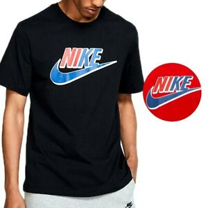 Nike Men's Active Short Sleeve T Shirt Two Color Americana Futura Logo