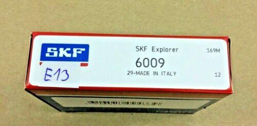 2X     SKF  Explorer    6009      Rillenkugellager      6009              E13//19