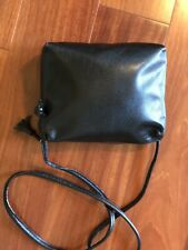 686072b023 Bottega Veneta Black Leather Crossbody  Shoulder Bag 100% Authentic   Very  Good