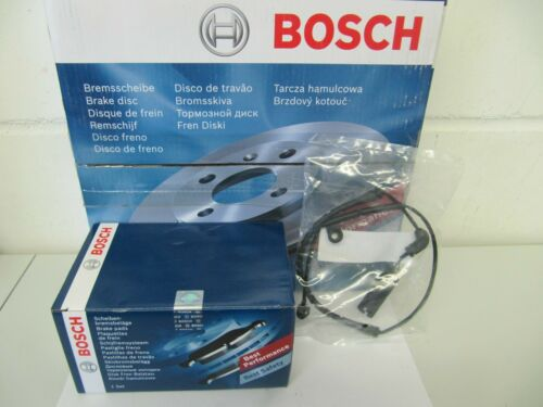 Z4 Satz für vorne Bosch Bremsscheiben und Bremsbeläge mit Wkt  BMW 3er E46