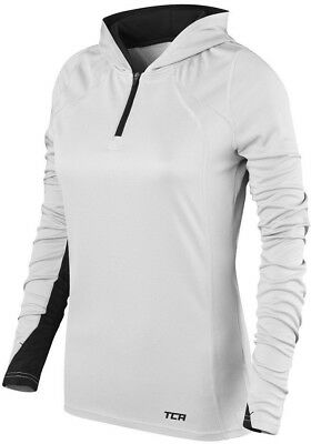 ZuverläSsig Tca Energy Womens Hoody Lightweight Gym Running Training Long Sleeve Hoodie Grey