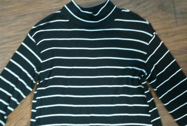 515f55cba1aca Liz Lange Maternity Tunic Dress Target Black White Stripe Size Large ...