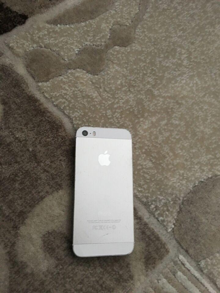 iPhone 5S, 32 GB, hvid