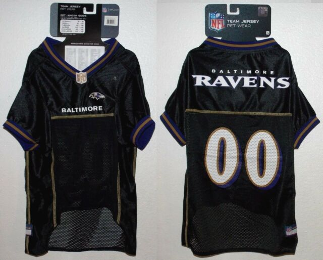 quality design e2bb6 7ad47 Pets First Baltimore Ravens NFL Mesh Pet Jersey X-large