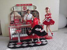 Barbie vintage SET KEN COCA COLA BAR avec 2 Barbies en plus du Ken