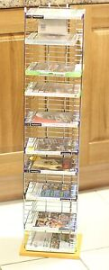 New-Wood-Base-Tower-Free-Standing-DVD-Storage-Unit-Rack-XBOX-PLAYSTATION-GAMES
