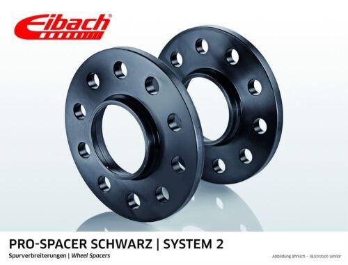 C207 Eibach Spurverbreiterung schwarz 20mm System 2 Mercedes E-Klasse Coupe