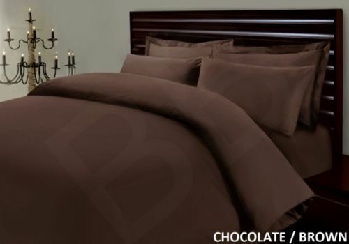 EGYPTIAN  COTTON 400 THREAD COUNT DUVET QUILT COVER BEDDING BED SET