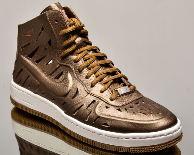 036a53161c Nike WMNS Air Force 1 Ultra Force Mid Joli women lifestyle sneakers NEW gold