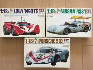 Print-Three-Types-Of-Sets-Chemio-1-18-Nissan-R381-Porsche-Carrera-910-Roller