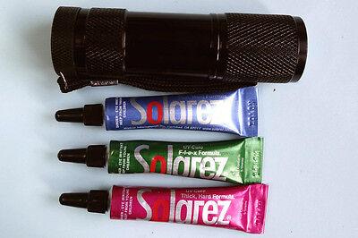 1 x Resine UV SOLAREZ FLEX 5g resin cure montage mouche tack free fly tying hard