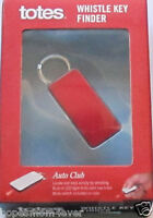 Brand Totes Whistle Key Finder Red W/ Light Chirps To Find Keys Free Ship