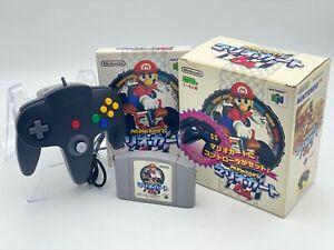 Mario Kart 64 Controller SET COMPLETE VERSION JAPAN Nintendo 64 N64 ref BOXED