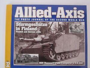 Allied-Axis-32-Sturmgeschutz-in-Finland-M20-Diamond-T-Tank-Transporter