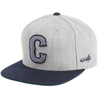 Cliche - Big League Starter Cap - Grey Snap Back Skateboard Cap Cliché Snapback