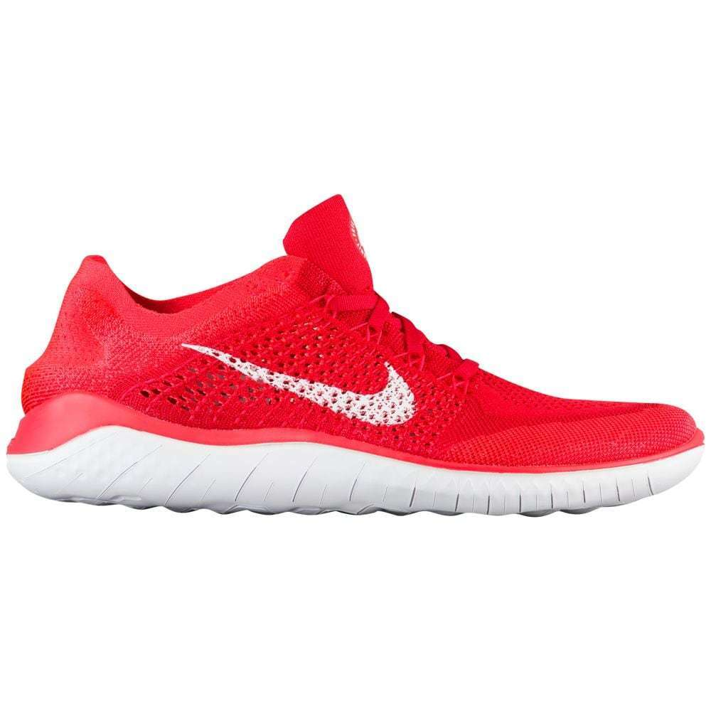 Men's Nike Free RN Flyknit 2018 Running shoes, 942838 601 Multi Sizes Uni Red Wh