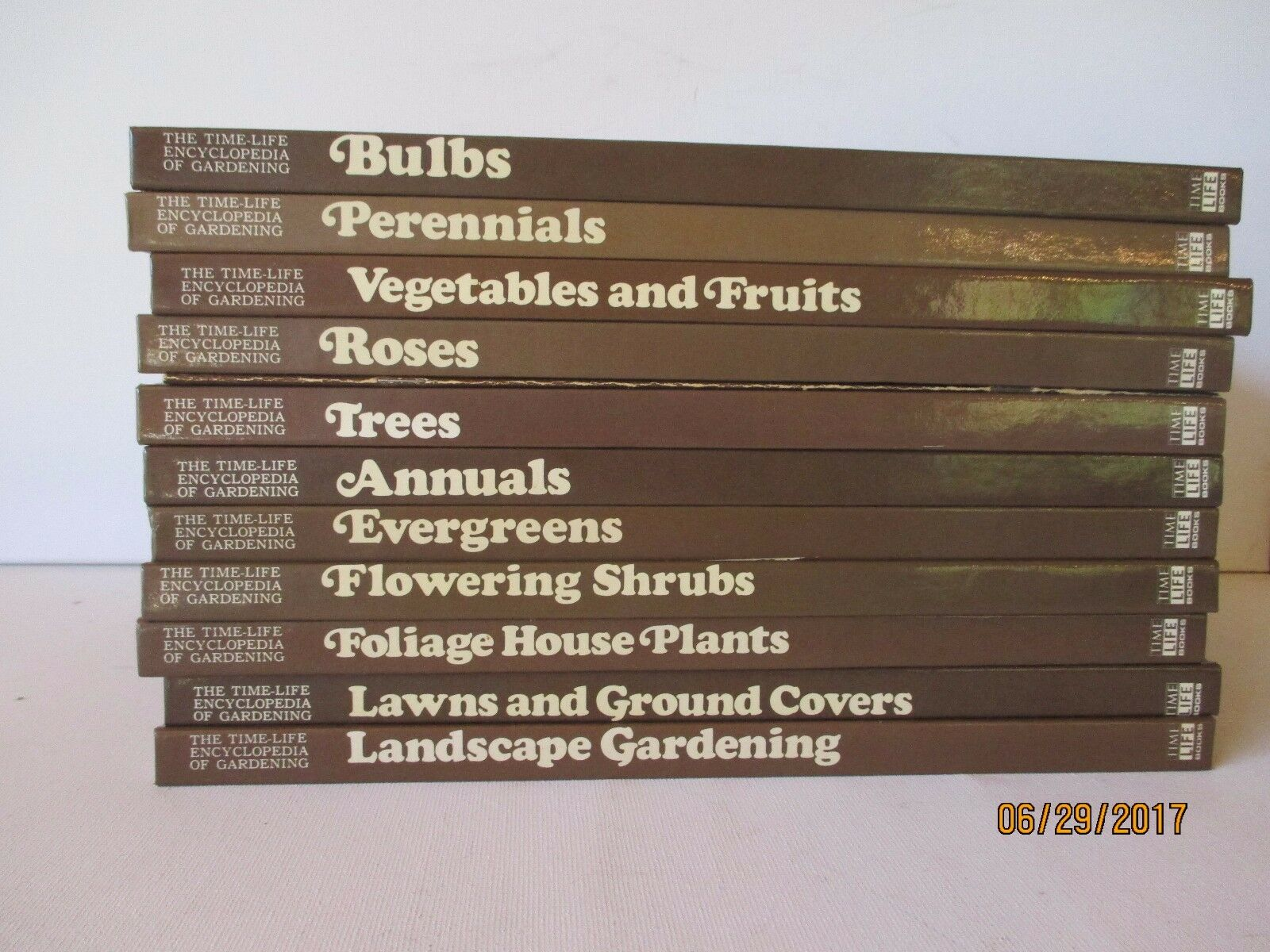 GARDENING SERIES-Lot de 11-HARDCOVER-Time-Life - Excellent-LIVRAISON GRATUITE