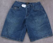 FIRST DOWN JEANS FLAT FRONT SHORTS. SIZE - W38 X L14. TAG NO. 202q