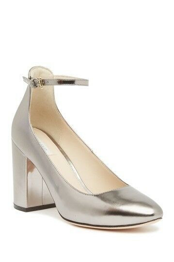 COLE HAAN LARUE GRAND PUMP (85MM) - PEWTER METALLIC LEATHER 8.5