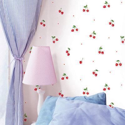 Cherry Flower Contact Paper Self Adhesive Floral Wallpaper Worktop Shelf Liner