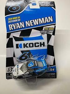 2020 Wave 5 Ryan Newman Koch Industries 1//64 NASCAR Authentics Loose w// Hood