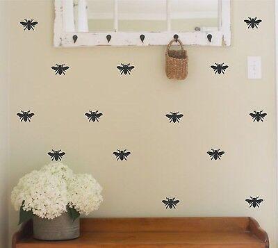 Bee Vinyl Wall Decal Honey Bee Designer Decor Home Decor Bedroom Decor Bumblebee Ebay