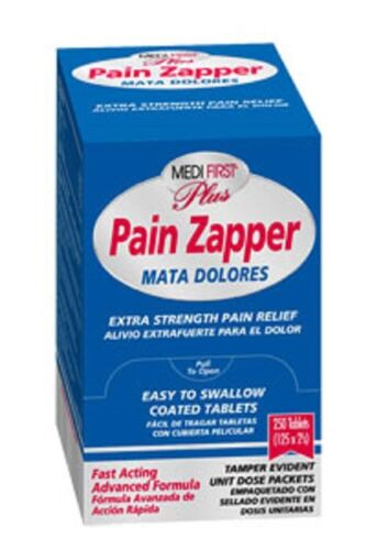 1000 Pain Zapper Pills Tablets First Aid Emergency Camping Survival Refill Kit