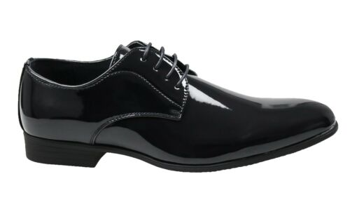 Scarpe uomo Class vernice man/'s shoes blu scuro nero eleganti cerimonia