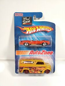 Hot-Wheels-1-64-Diecast-Autozone-Exclusive-2-Pack-Dairy-Delivery-Barracuda-NOC