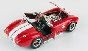 NEW,NEVER OPENED! Red 1965 Shelby Cobra 427 -1/18 Metal by Shelby Collectibles