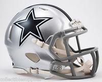 Dallas Cowboys Nfl Revolution Speed Mini Football Helmet