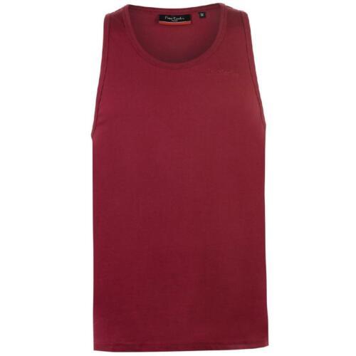 Pierre Cardin Hommes Sans Manches T-shirt tshirt Tank Top Gilet Vest Fitness 8024