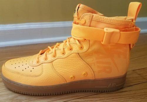 Nike SF Air Force 1 Mid Odell Beckham AF1 NEW Laser Orange Size 12