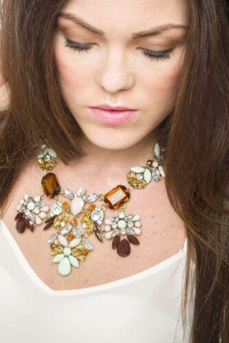Fashion Charm Jewelry Pendant Chain Crystal Choker Chunky Statement Necklace uk