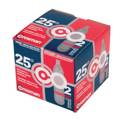 25 Cartridges Crosman 12 Gram CO2
