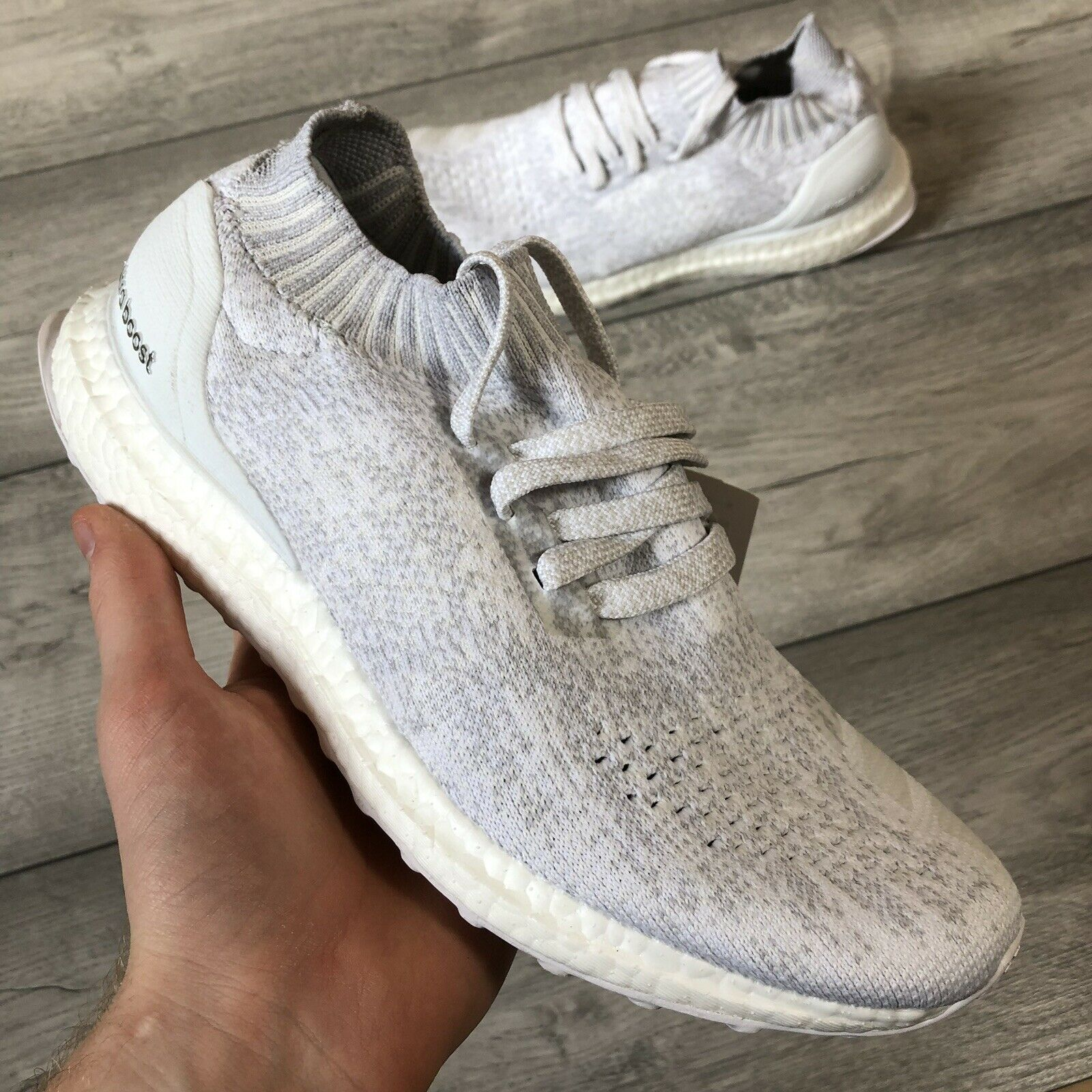 ADIDAS ULTRA BOOST UNCAGED TRIPLE WHITE SIZE UK6.5 US7 BY2549
