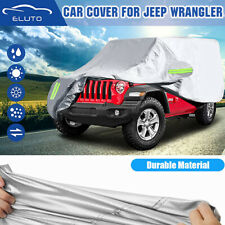 Waterproof Suv Car Cover Scratch Dust Protector For Jeep Wrangler Cj Jl 2 Door Fits Jeep