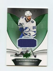 18-19-UPPER-DECK-TRILOGY-GAME-USED-JERSEY-45-NIKITA-KUCHEROV-083-365-63986