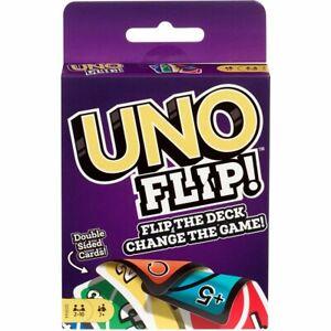 UNO-Flip-Card-Game-Brand-new-sealed-package-Mattel-Games-flip-the-deck-Original