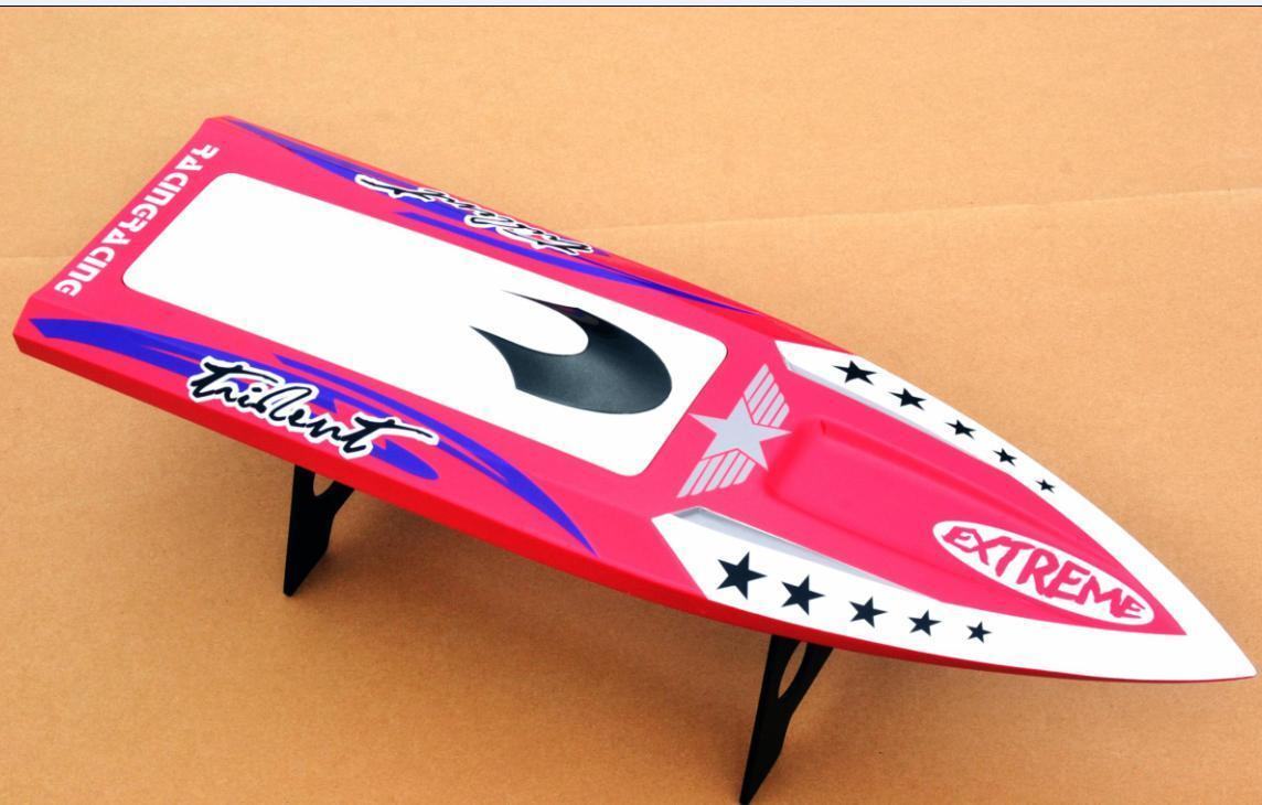 DT RC Electric Boat Hull  H640 Coloreeosso rosso KIT Only for Advanced Player  molto popolare