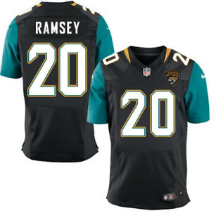 lowest price 8a4fe f3971 Details about Nike Jalen Ramsey Jacksonville Jaguars #20 NFL Authentic On  Field Jersey XL 2XL