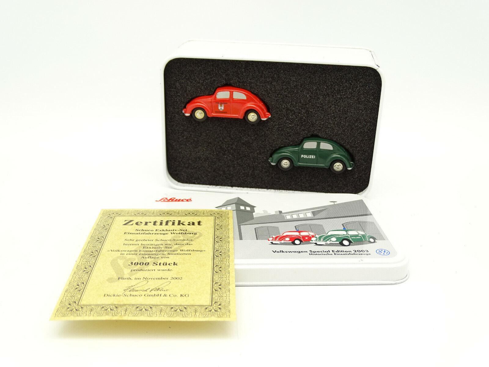 Schuco 1 90 Small-Box VW Special Edition 2003-VW COCCINELLE Polizei