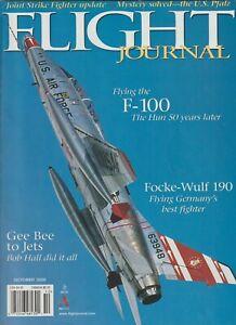 Flight-Journal-Oct-2000-Flying-Civilian-F-100-FW190-JSF-Grumman-Bob-Hall