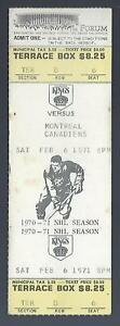1970-71-NHL-MONTREAL-CANADIENS-LOS-ANGELES-KINGS-FULL-UNUSED-HOCKEY-TICKET