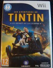 Les aventures de Tintin: le secret de la Licorne Wii NEW!