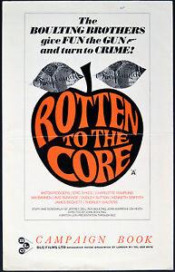 ROTTEN-TO-THE-CORE-1965-Eric-Sykes-Ian-Bannen-Dudley-Sutton-UK-PRESSBOOK