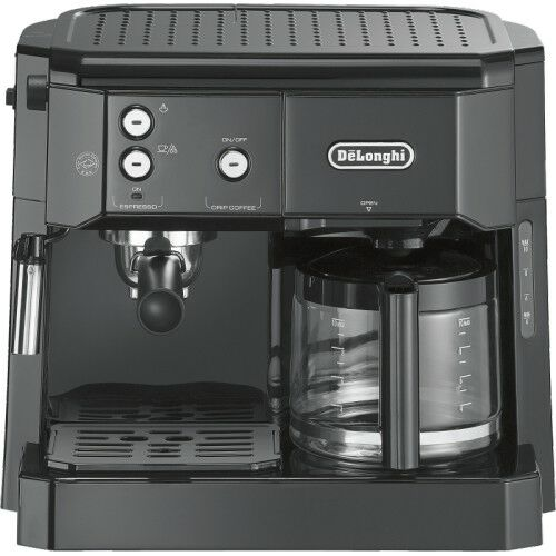 Delonghi BCO 411.B Schwarz Kombi-Kaffee-//Espressomaschine 1.750 Watt