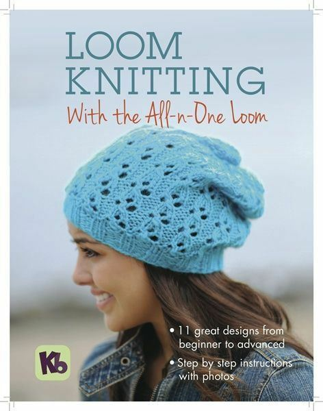Kb Knitting Pattern Book For All In One Loom Hats Socks Shawls