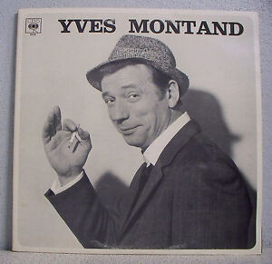 2-x-33T-Yves-MONTAND-Discs-LP-12-034-DANS-LES-THE-WEST-PLAINS-CBS-66208